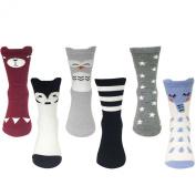 AllyDrew Little Animal Tube Socks, 18-24 months