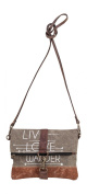 Mona B Live Love Wander Fold-Over Crossbody Bag M-3734