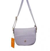 Pale Purple Small Cross-Body Handbag