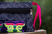 GBSELL Women Ethnic Handmade Embroidered Wristlet Clutch Bag Vintage Purse Wallet