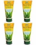 (4 PACK) - Aloe Pura - Aloe Vera After Sun Lotion | 200ml | 4 PACK BUNDLE