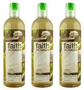 (3 PACK) - Faith in Nature - Jojoba Shampoo | 400ml | 3 PACK BUNDLE