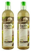 (2 Pack) - Faith in Nature - Jojoba Shampoo | 400ml | 2 PACK BUNDLE