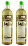 (2 Pack) - Faith in Nature - Jojoba Shampoo | 400ml | 2 PACK BUNDLE