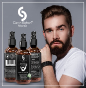 Handsome Guy Beard Oil - 100% Natural - Softens Your Beard and Stops Itching - With Nourishing Jojoba Oil, Organic argan oil
