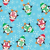 Roly Poly Penguins Christmas Wrapping Paper - 9.3sqm