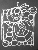 23cm x 30cm Circle Web Stencil by Suzi Dennis