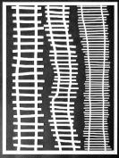 23cm x 30cm Ladders Stencil by Carolyn Dube