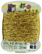 Fujix [capital Temari yarn] 30m col. Hosokin
