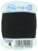 Fujix Fine [hand-sewing thread] # 40 / 100m col.402 black