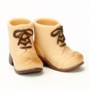 Obitsudoru 11cm short boots warm beige for the body
