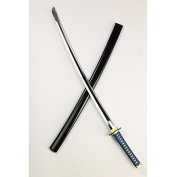 Obitsudoru tail chest armed No.1 sword blue pattern ~ black sheath sword state about 33cm