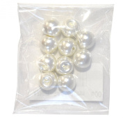 Bell Art Pearl button 10mm col.00 12 months entering AZNUT-344