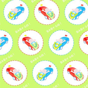 Baby Go Wrapping Paper - 1.8m Roll