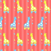 Baby Giraffe Wrapping Paper - 1.8m Roll
