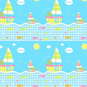 Baby Ship Wrapping Paper - 1.8m Roll