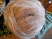 120ml Ball of Huacaya Alpaca Roving Fibre