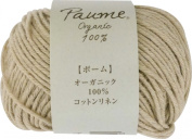 Hamanaka Paume cotton linen 25g 66m col.202 5 ball set
