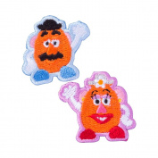Minoda Toy Story Pop zone emblem small PZ Potato Head Small D01Y0359