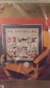 Counted Cross Stitch :The Sporting Life""