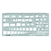Dorapasu template E506 interior layout ruler 1