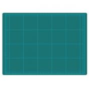 Uchida cutting mat cost corresponding double-sided A4 Green