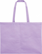 Work storage bag 4 off the non-woven fabric / light purple