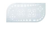 Banco shaped extinguishing plate ES-60