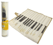 Set eighteen brush for watercolour painting hog bristle brush [AG Logistics]