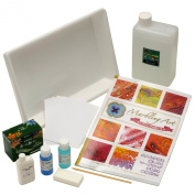Knicker paint marbling deco art book set