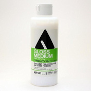 Holbein acrylic La medium 200ml gloss medium
