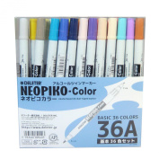 Derita alcohol marker Neopiko colour 36 colours A set