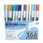 Derita alcohol marker Neopiko colour 36 colours A set