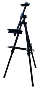 Radical art aluminium horizontal easel black