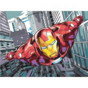 Paint Works 73-91501 Iron Man Pencil by Number Kit