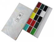 KISSHO GANSAI Japanese Watercolour Paint 15 Colours Set