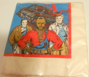The A-Team Party Napkins Dinner Lunch Favour Birthday Mr T TV Show