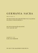 Die Regensburger Bischofe Von 1649 Bis 1817. Die Bistumer Der Kirchenprovinz Salzburg. Das Bistum Regensburg 1 [GER]