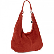 CASPAR TL617 Women Suede Shoulder Bag