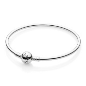 Pandora Bangle Sterling Silver 17 Cm/6.7 in 590713-17