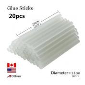 """20pcs/pack Hot glue clear sticks All purpose Multi Temp Full Size 10 3/5""""x 2/5"""""""