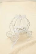 panami Handicraft Kit _Eternal ring pillow_ carriage type WW-119 white