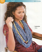 Berroco Origami Knitting & Crochet Pattern Booklet #305 By The Each