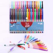 Smart Colour Art - 36 Colour Premium Gel Pen Set | Colours Included