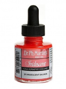 Dr. Ph. Martin's Iridescent Calligraphy Colour, 30ml, Iridescent Salmon
