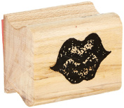 "Centre Enterprise A103 ""PLUMP LIPS"" Maple Wood Stamp"
