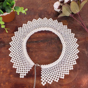 Fashion Faux White Pearls Detachable Lady False Collar Necklace DTY Clothing Craft Supply Accessories