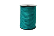 """Twisted Cord 68/3 (1/4"""" - 5MM) - Teal"""