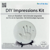 DIY Impressions Casting Kit - 6 Piece Set - Ideal For Baby Gift SC1073
