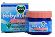Vicks Babyrub Soothing Ointment Soothing Comfort for Babies 50ml